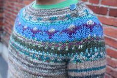 Handmade Icelandic style unisex sweater by TASSSHA on Etsy, $230.00