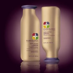 PUREOLOGY  NANO WORKS®  FOR AGING COLOUR-TREATED HAIR    Help aging colour-treated hair retain its fresh-from-the-salon vibrancy with ZeroSulfate® shampoos containing the exclusive AntiFadeComplex®.    Our 100% vegan, ultra restorative formulas offer extraordinary colour protection, dramatically improved condition and renewed shine.