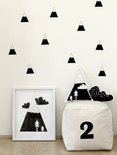 Mountain Wall Stickers