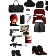 ?? by glittersamurai on Polyvore featuring polyvore, fashion, style, T By Alexander Wang, UGG Australia, GiGi New York, Eva Fehren, Majesty Black, The Case Factory, Forever 21, Chicnova Fashion, Smashbox, Urban Decay, RIFLE and Leather