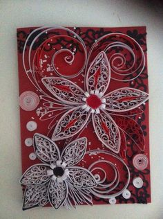 Handmade Greeting Card  Envelobox  Any Occasion  by QuilledDreams, £7.99