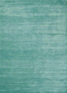 Solids/ Handloom HWV-2000 Jade Wool and Art Silk Rug