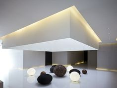 Beautiful lighting. Lightbox  by Hsuyuan Kuo Architect & Associates.