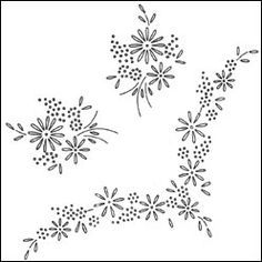 Pattern Detail | Floral Motifs | Needlecrafter