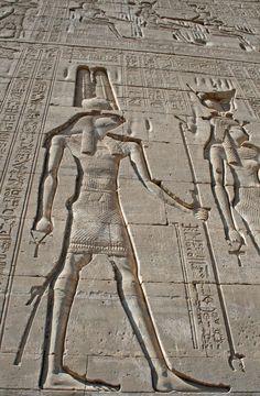 https://flic.kr/p/9q6mik | Hieroglyphs at Dendera Temple 14 | Hieroglyphs at Dendera Temple 14