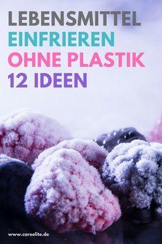 Das Einfrieren ohne Plastik ist die plastikfreie, gesunde und umweltfreundliche Alternative zum herkömmlichen Einfrieren im Gefrierbeutel oder Plastikdosen. Wie du Lebensmittel am besten plastikfrei einfrieren kannst und welche Behälter zum Einfrieren bes