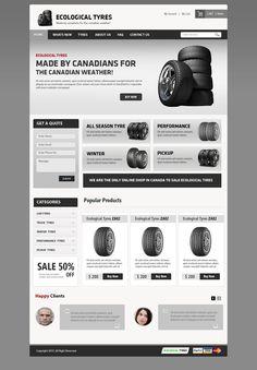 Ecological Tyres - Designed by Kapil Kosare