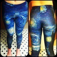 Starry Night Leggings | Black Milk Clothing