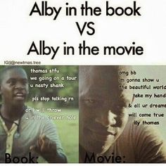Image result for alby's death maze runner