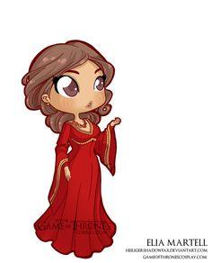 Elia Martell //  Game of Thrones cosplay group http://www.gameofthronescosplay.com | by Sara Manca http://heiligershadowfax.deviantart.com/