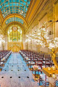 Beautiful Wedding Aisle Decoration Ideas ❤ See more: http://www.weddingforward.com/wedding-aisle-decoration-ideas/ #weddings