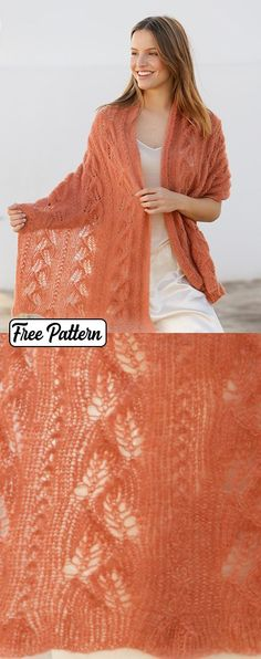 Free Knitting Pattern for Autumn Willows a Lace Stole Ravelry Free Knitting Patterns, Free Childrens Knitting Patterns, Crochet Toddler Dress, Crochet Baby Dress Pattern, Maid Marian, Vintage Crochet Dresses, Quick Knits, Lace Shawls, Knit Shawls