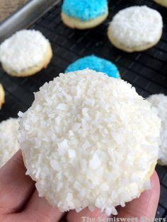 Coconut Cream Sugar Cookies Recipe