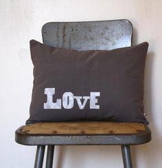 nestahome on etsy   love pillow