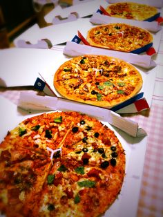 Buy one ,get one free !! Today is Pizza party.