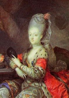 1772 Princess Louise of Denmark dressed for a Masquerade in Turkish dress