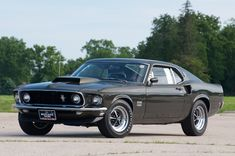 Stunning 1969 Ford Mustang Boss 429, My second car.