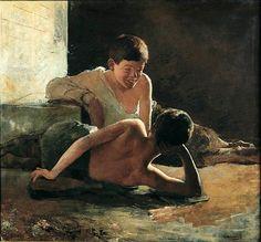 Wincenty Wodzinowski (1866 – 1940) - Boys
