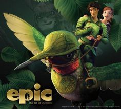 """EPIC - Tells the story of an ongoing battle deep in the forest between the forces of good and the forces of evil. When a teenage girl (named Mary Katherine) finds herself magically transported into this secret universe, she must band together with a rag-tag team of fun and whimsical characters (the 'Leaf Men') in order to save their world (and ours) from the evil spider Queen Tara.   Based on William Joyce's illustrated children's book, """"The Leaf Men and the Brave Good Bugs."""""""