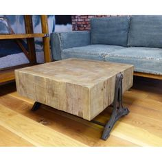 Arkwright Coffee Table Reclaimed Wood Furniture Smithers of Stamford £ Store UK, US, EU Cute Furniture, Reclaimed Wood Furniture, Retro Furniture, Rustic Furniture, Furniture Design, Reclaimed Wood Coffee Table, Rustic Coffee Tables, Woodworking At Home, Wood Blocks