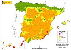 Índice de aridez en España