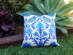 Santa Maria Outdoor Cushions, Outdoor Pillows  Blue, Turquoise, Lavender. Lime, Green Outdoor Scatter Cushions Modern Retro Pillows