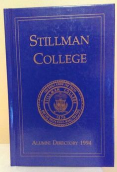 Stillman College Alumni Directory 1994 stores.ebay.com/urbanreseller