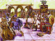 Iconoclasm, Constantinople, 754AD - La Pintura y la Guerra. Sursumkorda in memoriam