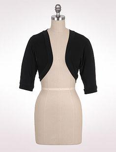 Misses | Dresses | Cuffed Sleeve Shrug | dressbarn