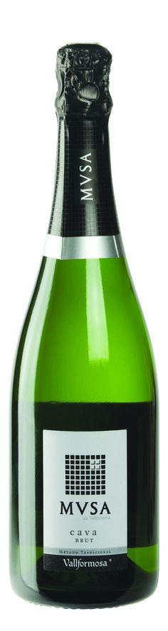 Musa brut cava. Te verkrijgen bij wines@home.
