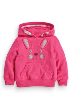 Bunny Embellished Hoody (3mths-6yrs) From Next