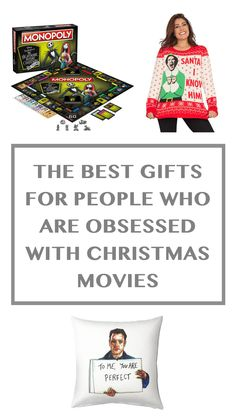 The best gifts for all you holiday-movie-obsessed filthy animals Holiday Movie, Christmas Movies, Christmas Holidays, Christmas Gifts, Watch Home Alone, Filthy Animal, Santa Clause, Jingle All The Way, You Are Perfect