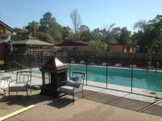 Pool Fences Flagler Beach - Baby Barrier Pool Safety Fence not only keeps your family safe from pool accidents, but also is custom installed specifically for your pool design. #PoolSafetyFence #PoolSafety #BabyBarrier