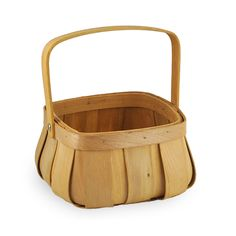 Square Top Curved Bottom Basket - Small 6in The Lucky Clover Trading Company $3.00
