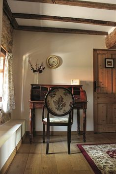 Stone Farms, Farm Cottage, Rustic Charm, Beams, Entryway Tables, Restoration, France, Contemporary, Holiday