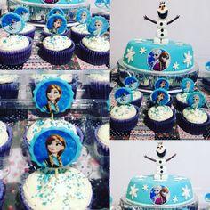 Torta Cumpleaños Frozen Tata-Sabores Tortas & Postres