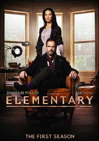Elementary. All 24 episodes from the first season of the American-made reimagining of the classic detective novels by Arthur Conan Doyle starring Jonny Lee Miller as Sherlock Holmes and Lucy Liu as his companion Dr. Watson.
