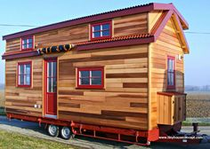 The ATEN 620: a brand new tiny house from French builder, Tiny House Concepts.