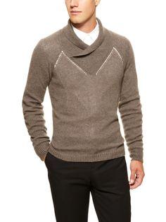 Shawl Collar Sweater by Burberry Prorsum on Park & Bond