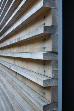 Exterior Wall Cladding, Wood Facade, Timber Cladding, Wood Siding, Cladding Ideas, Diy Exterior Wall, Exterior Remodel, Shiplap Cladding, Wood Slat Wall
