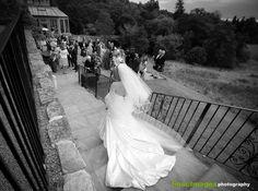 The dashing bride...