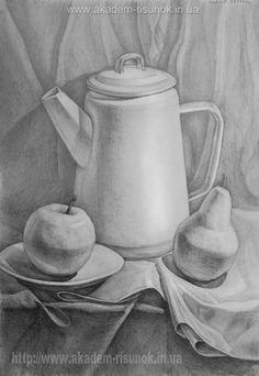 Уроки рисования для начинающих Днепропетровск.  Художественная мастерская для взрослых Днепропетровск Art Articles, Abstract Pencil Drawings, Fine Art Class, Drawing Illustrations, Geometric Drawing, Still Life, Still Life Art, Object Drawing, Industrial Design Sketch