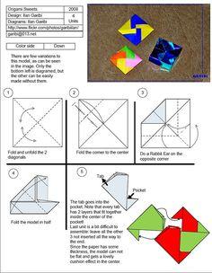 Origami Sweets Diagram by garibi ilan, via Flickr