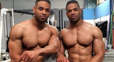 The Hodge Twins on Their Workout, Diet and Fitness Philosophy Muscle Gain Workout, Biceps Workout, Fit Board Workouts, Fun Workouts, Bodybuilding Leg Workout, Back Workout Routine, Best Adjustable Dumbbells, Celebrity Biographies, Workout Humor