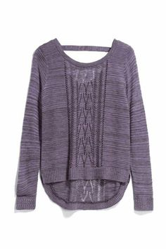 Great fall sweater. Love this cycle and color!!