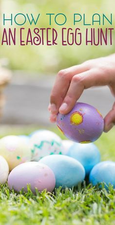 The Easter egg hunt is usually one of the highlights of the day. Here's how to plan an Easter egg hunt that's fun for all ages.
