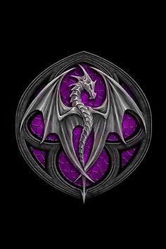 Purple dragon!