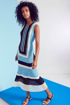 -Novis Spring 2017 Ready-to-Wear Fashion Show View the complete Novis Spring 2017 Ready-to-Wear Collection from New York Fashion Week. See it New York Fashion, Fashion Week, Fashion Show, Dress Fashion, Fashion Spring, Knit Fashion, Women's Fashion, Prom Dress Shopping, Online Dress Shopping