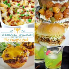 Meal Plan Sunday at The Country Cook is your weekly meal plan helper. Get recipes as well as a meal plan to help you make easy, family-friendly meals!