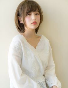Elegant Diamond Bob (AK-96) | Hair Catalog · Hairstyle · Hair Style | AFLOAT (Afroute) Beauty salon · beauty salon in Omotesando · Ginza · Nagoya